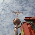 Kirchenturm aufsetzen