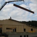 Dachpaneele Hallenbau